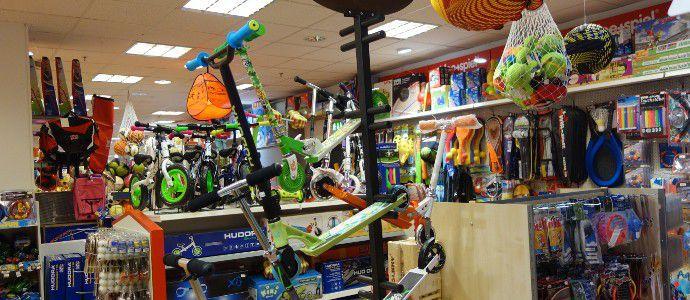 Kinder-Zweiräder und Roller aus dem Sport-Angebot des Spielzeugladens Zwerg Nase in Bernau