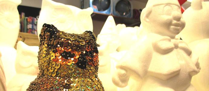 Deko- und Bastelspaß für kleine kreative Künstler im Spielzeugladen Zwerg Nase in Bernau